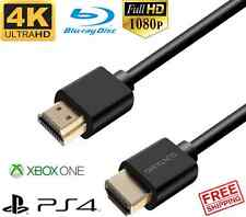 Premium HDMI Cable 3ft 6ft 10ft 15ft 30ft long for Blu-ray PS4 Xbox One 4K