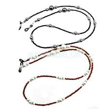 1 Piece Faux Pearl Beads Strand Eyeglass Holder Spectacle Sunglass Cord