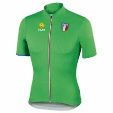 Men's Team Italy Italia Cycling Jersey Red Green White