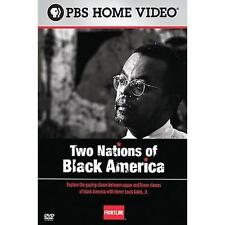 TWO NATIONS OF BLACK AMERICA: FRONTLINE NEW DVD