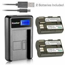BP-511 Battery & LCD Charger for Canon PowerShot G1 G2 G3 G5 G6, Pro1,Pro 90
