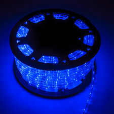 150FT LED Rope Light 2-Wire Outdoor Home Decoration Party Lighting 12V Indoor