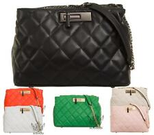 SHU HEAVEN LADIES SHOULDER BAG QUILTED PARTY PROM FASHION WOMENS CLUTCH BAGS