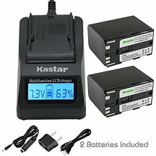 BP945 Battery&Ultra Fast Charger for Canon XL-H1, XH G1, XH-A1, XH-G1, GL1, GL-1