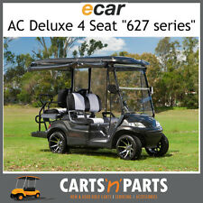 Ecar AC POWER DELUXE 4 Seat NEW GOLF CART Buggy 627 Series Full Deluxe Package W