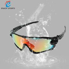 Sunglasses Bicycle Cycling Sport 4 Interchangeable Lenses Polarize UV Protection