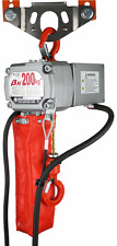 200kg Single Phase 240v Portable Electric Lifting Chain Hoist 3-10mtr Lift