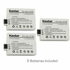 Kastar LP-E5 Battery for Canon Rebel XS, Canon Rebel XSi, Canon Rebel T1i