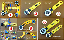6 Kinds Rotary Cutter Circle Compass Cutter Knife Quilting Sewing Leather Tool