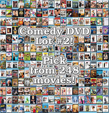 Comedy DVD Lot #2: 248 Movies to Pick From! Buy Multiple And Save!