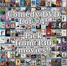 Comedy DVD Lot #4: 130 Movies to Pick From! Buy Multiple And Save!