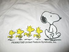 Vintage Peanuts United Featured Syndicate SNOOPY and WOODSTOCK (LG) T-Shirt