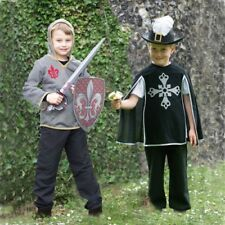 Childs Knight Or Musketeer New Historical World Book Day Costume Accessory Set