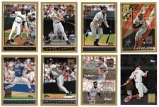 1998 Topps Minted in Cooperstown Baseball Set ** Pick Your Team **