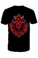 Star Wars Mens Darth Maul Short Sleeved Crew Neck T Shirt New Sith Top Tees