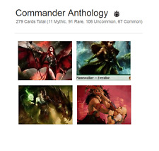Commander Anthology Cards MTG NM Magic The Gathering Worldwide Shipping