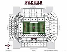 4 Texas A&M vs Mississippi State Tickets (Section 244, Row 3 - Aisle Seats)