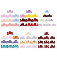 10Pcs 95mm Lady Big Large Headwear Hair Clips Claws Clamp Resin Hair Accessories