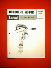 MONTGOMERY WARD CHRYSLER 7.5 HP SEA KING OUTBOARD MOTOR PARTS MANUAL VWB 52179A