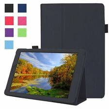 """Flip Folding Stand Leather Case Cover For Amazon Kindle Fire HD 7"""" 2015 Tablet"""
