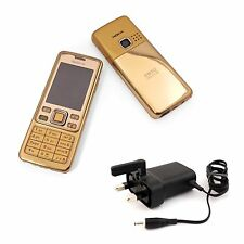 New Condition Nokia 6300 Gold / Black  Unlocked Camera Bluetooth Classic Mobile