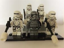 New Star Wars minifigures CAPTAIN PHASMA + FLAMETROOPER squad fits lego