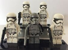 New Star Wars minifigures CAPTAIN PHASMA + STORMTROOPER squad fits lego