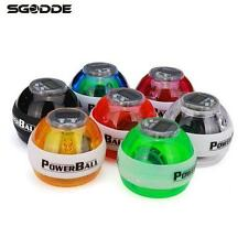 New Wrist Ball Arm Power Exercise Force Gyro Led Gyroscope Muscle Strength Count