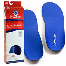 Powerstep Original Full Length Orthotic Anti-Microbial Shoe Insoles Foot Support
