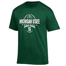 Michigan State Spartans NCAA College T shirt made by Champion Green