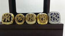 5pcs 1996 1998 1999 2000 2009 New York Yankees World Series Championship Rings
