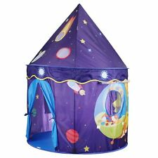 Kids Play Tent Eggsnow Purple Space Castle Tents Playhouse for Princess & Prince
