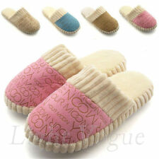 Beauty Letters Home indoor Shoes Men Women Furry Cotton Slides Slippers hh