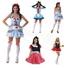 Alice in Wonderland Costume Maid Lolita Dress for Halloween/Cosplay Party M/L/XL