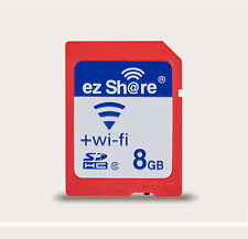 Wi-Fi Wireless SDHC 8/16GB Class 10 SD Memory Card for eye fi transcend ez Share