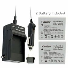 NB-4L Battery & Normal Charger for Canon PowerShot SD1000, SD1100 IS, SD1400 IS