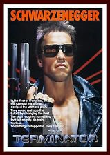 The Terminator   Iconic & Cool Movie Poster Vintage & Classic Film