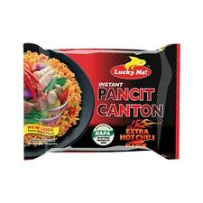New Stock LUCKY ME PANCIT CANTON Extra Hot Chili Flavor Chow Mein Fast US Seller