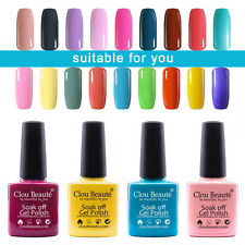 79 Colours Clou Beauté UV LED Gel Nail Polish Primer Top Coat Soak Off Nail Art