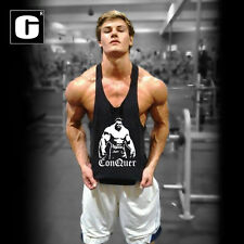 Mens Fitness Tops Gym Clothing Sleeveless Tops Casual Workout Bodybuilding Vest