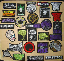 NEUROSIS THE SWORD BONGZILLA ELECTRIC WIZARD MAGMA BARONESS Embroidered PATCH