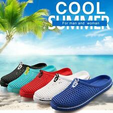 Summer Sandals Hollow Out breathable beach slippers Casual flat-bottomed Shoes b