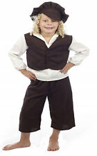 Childrens Boys Victorian Fancy Dress Oliver Chimney Sweeper Twist London Pauper