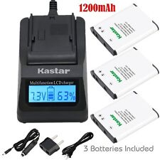 EN-EL19 Battery & Fast Charger for Nikon Coolpix S2600 S2700 S2750 S2800 S3100