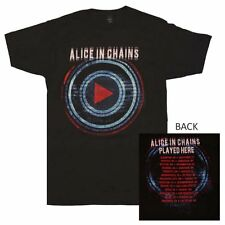 Alice in Chains Played Here Tour T-Shirt Officially Licensed NEW