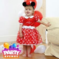 Disney Baby Minnie Mouse Red Dress Toddler Babies Costume Outfit
