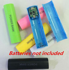 2600mAh Charger Box Power USB Bank For All Phone DIY Case Kit 18650 Battery
