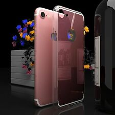 Mirror Back Rubber Crystal Clear Case Cover iPhone 5 6 7 S Plus Shockproof USA