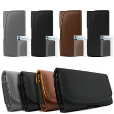 PU Leather Horizontal Belt Pouch Holster Case For Samsung I9210 Galaxy S II LTE