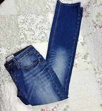 American Rag Cie Womens Juniors Size R0 Slim Bootcut Stretch Denim Jeans